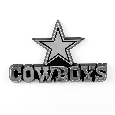 NFL Dallas Cowboys 3-D Auto Team Chrome Emblem Team ProMark