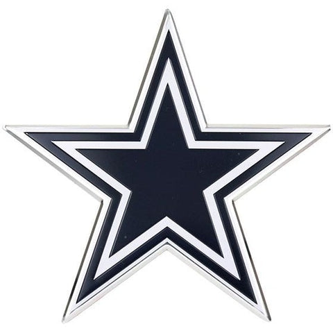NFL Dallas Cowboys 3-D Color Logo Auto Emblem By Team ProMark