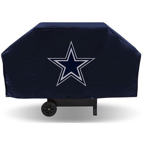 NFL Dallas Cowboys 68 Inch Vinyl Economy Gas / Charcoal Grill Cover