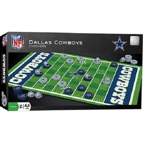 NFL Dallas Cowboys Checkers Game by Masterpieces Puzzles Co.