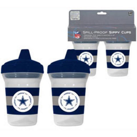NFL Dallas Cowboys Toddlers Sippy Cup 5 oz. 2-Pack by baby fanatic