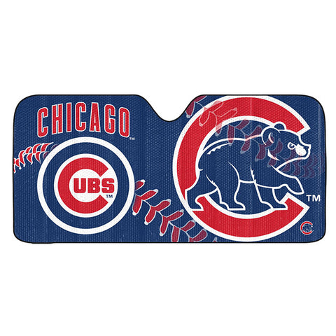 MLB Chicago Cubs Automotive Sun Shade Universal Size Team ProMark