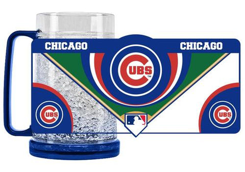 MLB Chicago Cubs 16oz Crystal Freezer Mug by Duck House