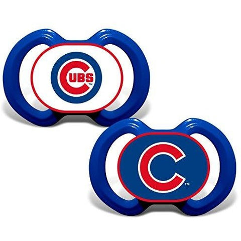 MLB Pacifiers Set of 2 Images Color Shield on Card by baby fanatic