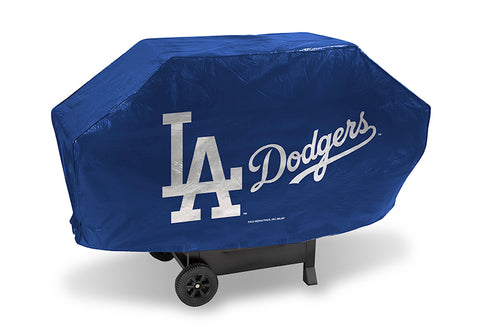 MLB Los Angeles Dodgers 68 Inch Deluxe Vinyl Padded Grill Cover by Rico Industries