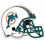NFL 12 INCH AUTO MAGNET MIAMI DOLPHINS OLD LOGO HELMET