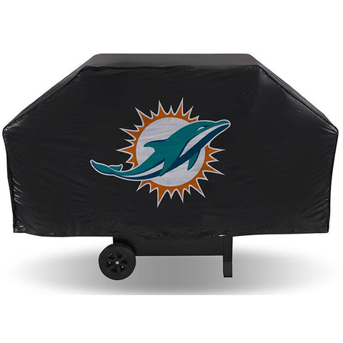 NFL Miami Dolphins 68 Inch Vinyl Economy Gas / Charcoal Grill Cover