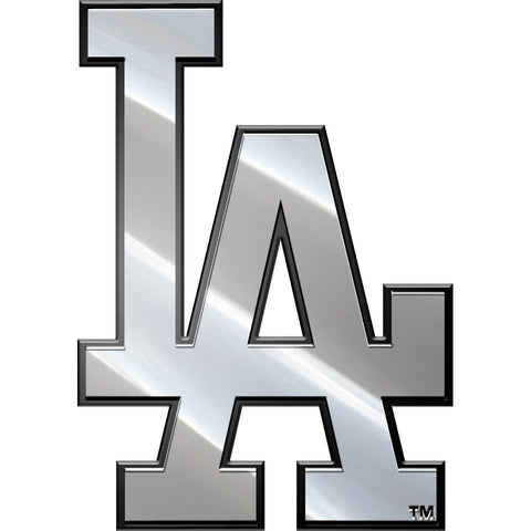MLB Los Angeles Dodgers 3-D Chrome Heavy Metal Emblem By Team ProMark