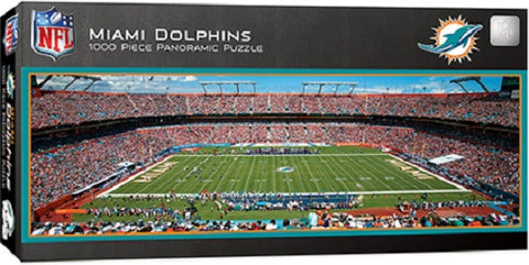 NFL Miami Dolphins 1000pc Puzzle by Masterpieces Puzzles