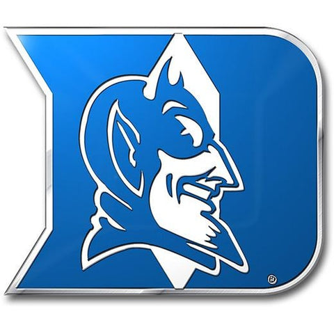 NCAA Duke Blue Devils 3-D Color Logo Auto Emblem By Team ProMark