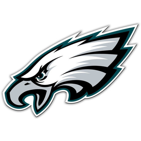 NFL 12 INCH AUTO MAGNET PHILADELPHIA EAGLES CURRENT LOGO