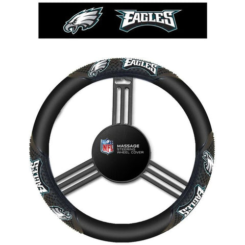 NFL Philadelphia Eagles Massage Steering Wheel Cover By Fremont Die