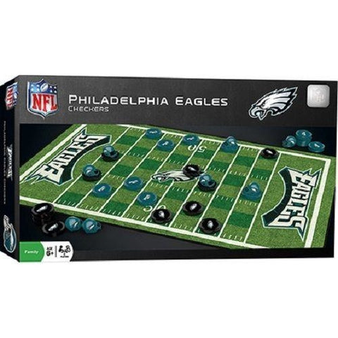 NFL Philadelphia Eagles Checkers Game by Masterpieces Puzzles Co.