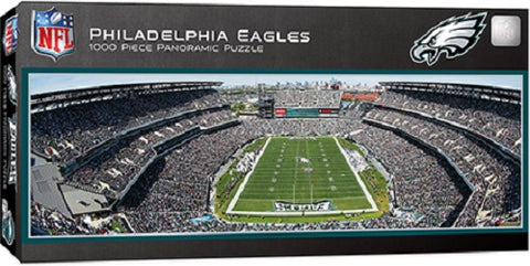 NFL Philadelphia Eagles Panoramic 1000pc Puzzle by Masterpieces Puzzles