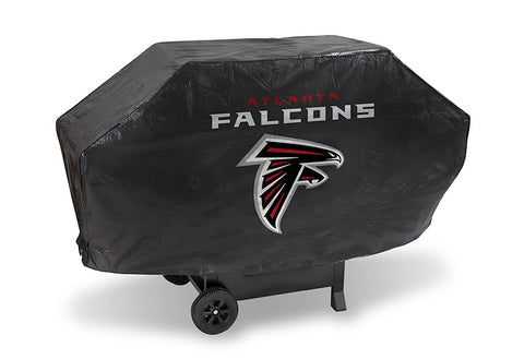 NFL Atlanta Falcons 68 Inch Deluxe Purple Vinyl Padded Grill Cover by Rico Industries