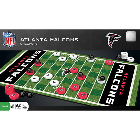 NFL Atlanta Falcons Checkers Game by Masterpieces Puzzles Co.
