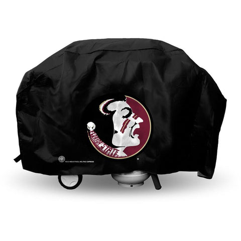 NCAA Florida State Seminoles Old Logo 68 Inch Vinyl Economy Gas / Charcoal Grill Cover