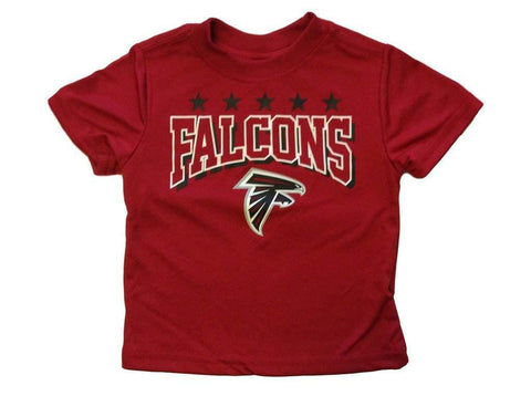 NFL Atlanta Falcons T-Shirt Logo on Red Short Sleeve Size 12M Youth Gerber