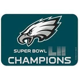 "Philadelphia Eagles Super Bowl LII Champion Welcome Mat 20"" by 30"""