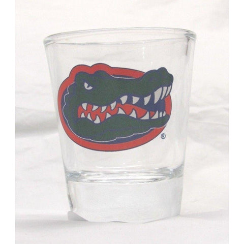 NCAA 2 oz Shot Glass with Team Logo by The Memory Company