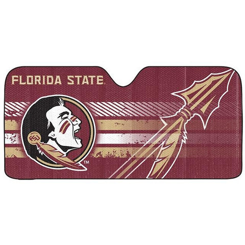 NCAA Florida State Seminoles Automotive Sun Shade Universal Size Team ProMark