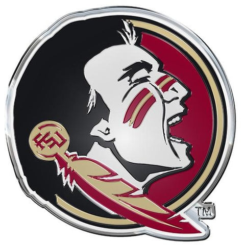 NCAA Florida State Seminoles 3-D Color Logo Auto Emblem By Team ProMark