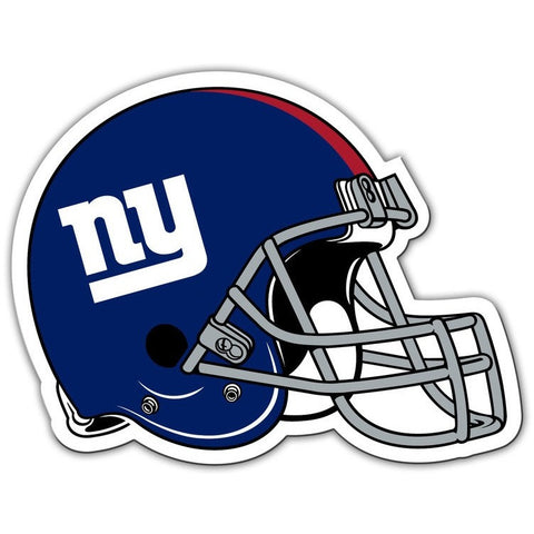 NFL 12 INCH AUTO MAGNET NEW YORK GIANTS HELMET