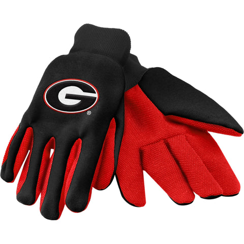 NCAA Colored Palm Utility Gloves by Forever Collectibles