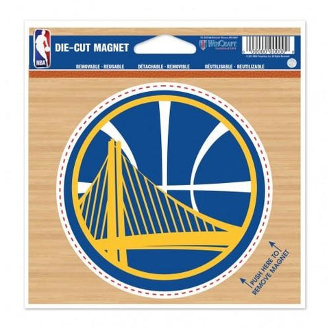 NBA Golden State Warriors Logo 4 inch Auto Magnet by WinCraft