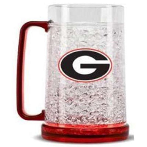 NCAA Georgia Bulldogs 16oz Crystal Freezer Mug by Duck House