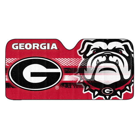 NCAA Georgia Bulldogs Automotive Sun Shade Universal Size Team ProMark