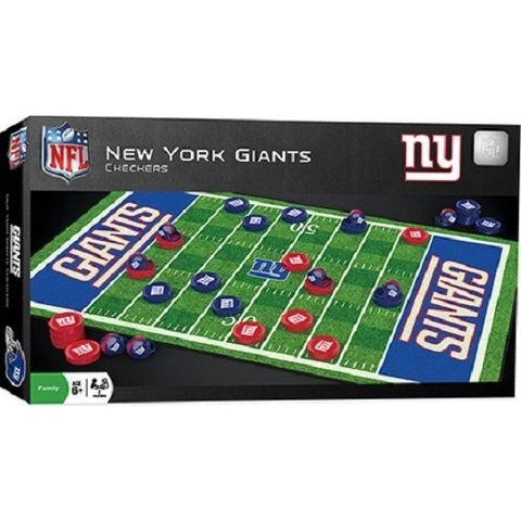 NFL New York Giants Checkers Game by Masterpieces Puzzles Co.