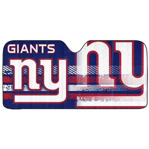 NFL New York Giants Automotive Sun Shade Universal Size by Team ProMark