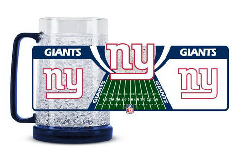 NFL New York Giants 16oz Crystal Freezer Mug by Duck House