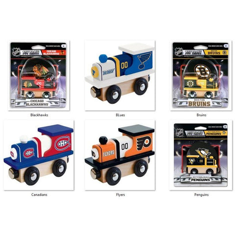 NHL Real Wood Toy Train by MasterPieces Puzzle Co.