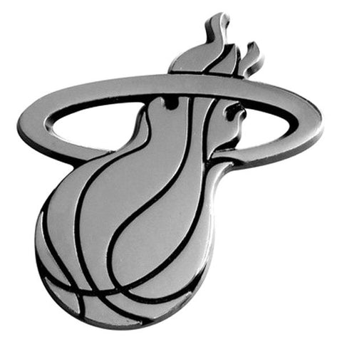 NBA Miami Heat 3-D Chrome Heavy Metal Emblem By Team ProMark