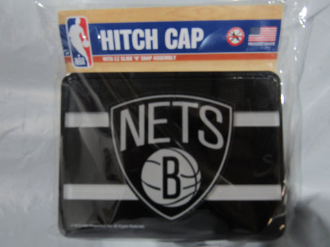 NBA Brooklyn Nets Laser Cut Trailer Hitch Cap Cover by WinCraft