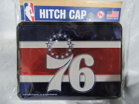 NBA Philadelphia 76ers Laser Cut Trailer Hitch Cap Cover by WinCraft