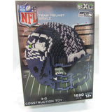 NFL Seattle Seahawks Helmet Shaped BRXLZ 3-D Puzzle 1630 Pieces