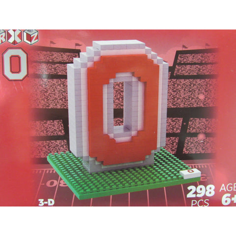 NCAA Ohio State Team Logo BRXLZ 3-D Puzzle 298 Pieces