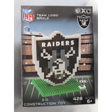 NFL Oakland Raiders Team Logo BRXLZ 3-D Puzzle 428 Pieces