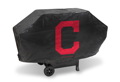 MLB Cleveland Indians 68 Inch Deluxe Vinyl Padded Grill Cover by Rico Industries