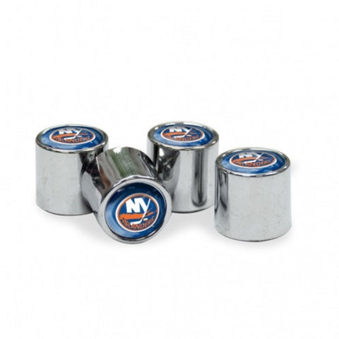 NHL New York Islanders Chrome Tire Valve Stem Caps by WinCraft