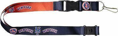 MLB New York Mets Reversible Lanyard Keychain 23″ Long 3/4″ Wide by Aminco