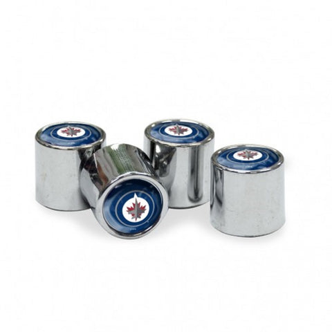 NHL Winnipeg Jets Chrome Tire Valve Stem Caps by WinCraft