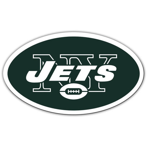 NFL 12 INCH AUTO MAGNET NEW YORK JETS CURRENT LOGO