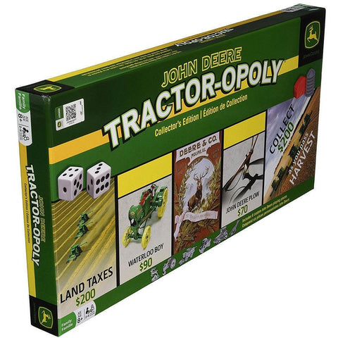 John Deere Tractor-opoly (Monopoly) Junior Board Game Masterpieces Puzzles Co.