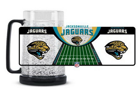 NFL Jacksonville Jaguars 16oz Crystal Freezer Mug by Duck House