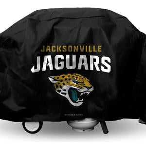 NFL Jacksonville Jaguars 68 Inch Vinyl Economy Gas / Charcoal Grill Cover