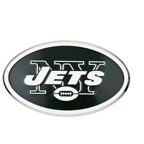 NFL New York Jets 3-D Color Logo Auto Emblem By Team ProMark